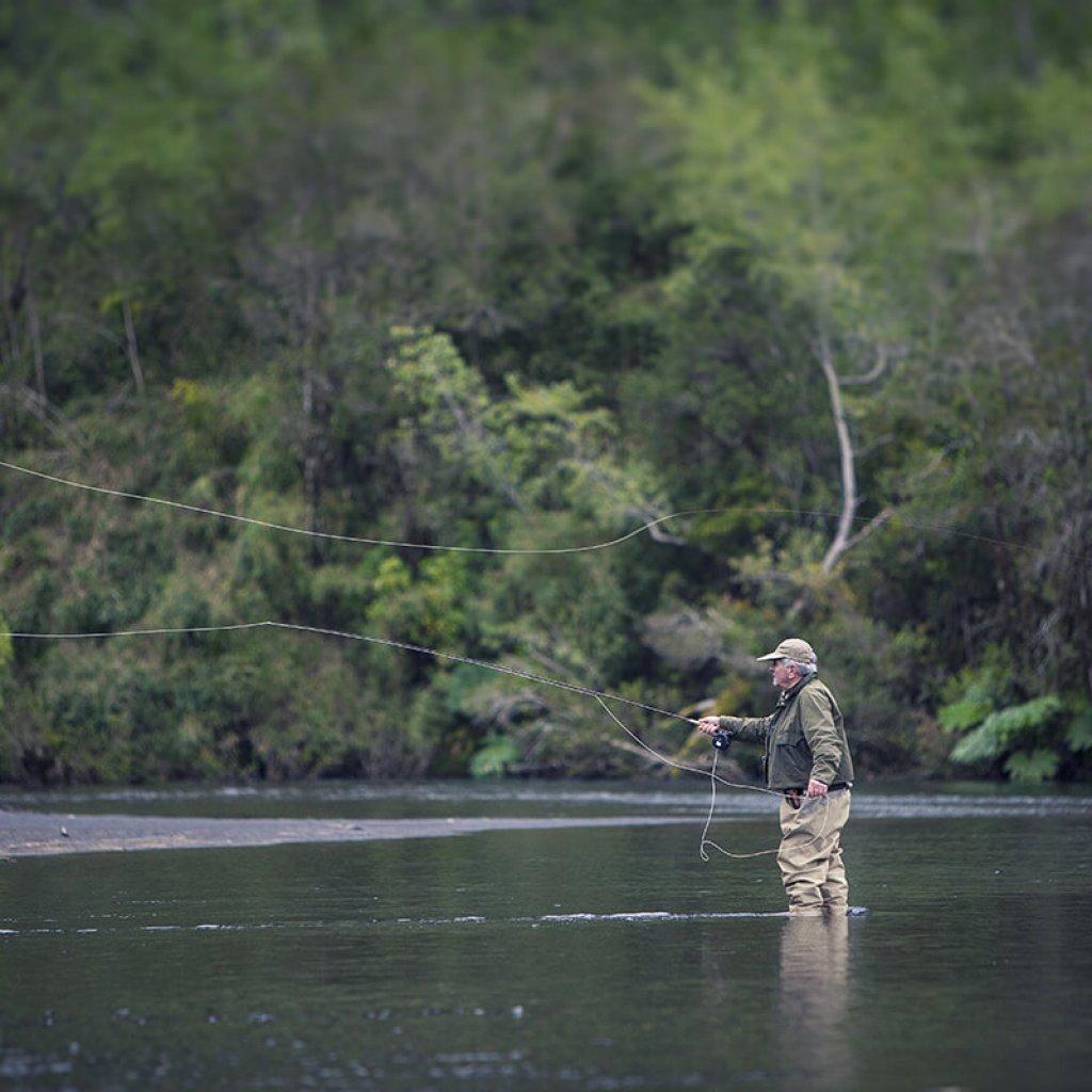 Pesca en la Patagonia